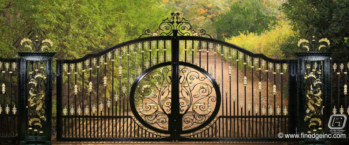 ornamental fence gates manufacturers exporters suppliers India http://www.finedgeinc.com +91-8289000018, +91-9815651671